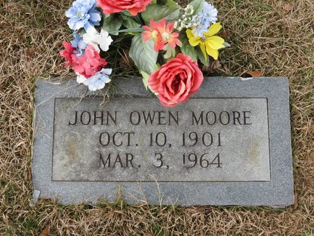 MOORE, JOHN OWEN - Nevada County, Arkansas   JOHN OWEN MOORE - Arkansas Gravestone Photos