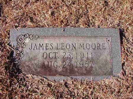 MOORE, JAMES LEON - Nevada County, Arkansas | JAMES LEON MOORE - Arkansas Gravestone Photos