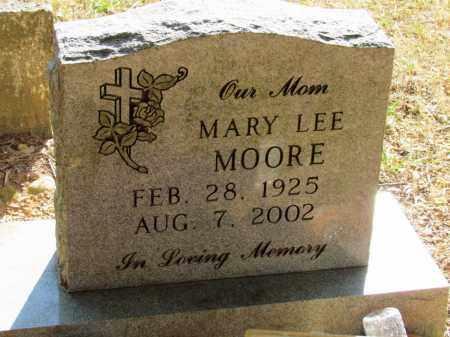 MOORE, MARY LEE - Nevada County, Arkansas | MARY LEE MOORE - Arkansas Gravestone Photos