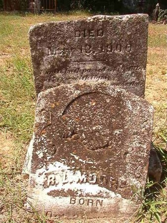 MOORE, R L - Nevada County, Arkansas   R L MOORE - Arkansas Gravestone Photos