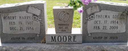 MOORE, THELMA LOUISE - Nevada County, Arkansas   THELMA LOUISE MOORE - Arkansas Gravestone Photos
