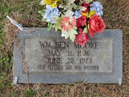 MOORE, WM. BEN - Nevada County, Arkansas   WM. BEN MOORE - Arkansas Gravestone Photos