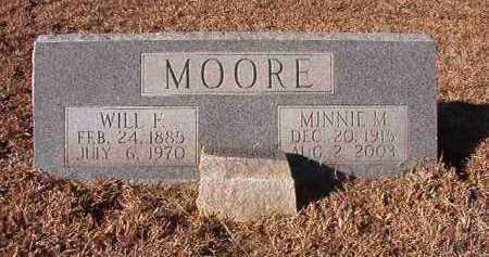 MOORE, WILL F - Nevada County, Arkansas   WILL F MOORE - Arkansas Gravestone Photos