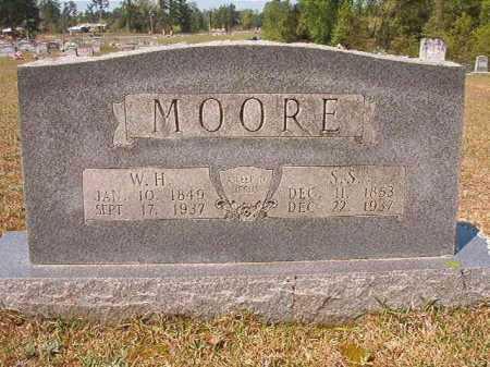 MOORE, W H - Nevada County, Arkansas | W H MOORE - Arkansas Gravestone Photos