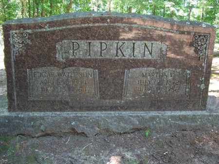 PIPKIN, MARTHA - Nevada County, Arkansas | MARTHA PIPKIN - Arkansas Gravestone Photos