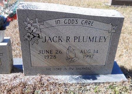 PLUMLEY, JACK R - Nevada County, Arkansas | JACK R PLUMLEY - Arkansas Gravestone Photos