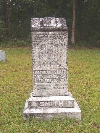 SMITH, AMANDAH - Nevada County, Arkansas   AMANDAH SMITH - Arkansas Gravestone Photos