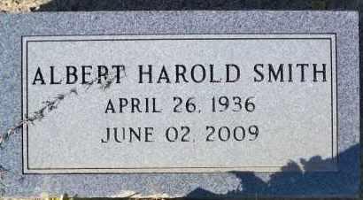 SMITH, ALBERT HAROLD - Nevada County, Arkansas | ALBERT HAROLD SMITH - Arkansas Gravestone Photos