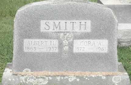 SMITH, CORA A - Nevada County, Arkansas | CORA A SMITH - Arkansas Gravestone Photos