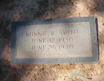 SMITH, BONNIE K - Nevada County, Arkansas   BONNIE K SMITH - Arkansas Gravestone Photos