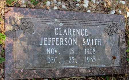 SMITH, CLARENCE JEFFERSON - Nevada County, Arkansas | CLARENCE JEFFERSON SMITH - Arkansas Gravestone Photos