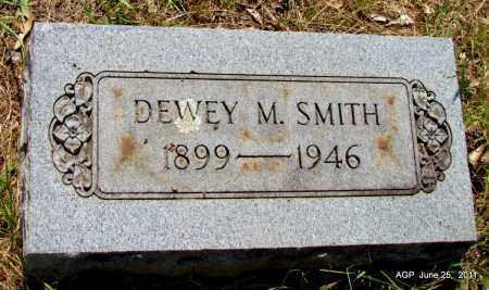 SMITH, DEWEY M - Nevada County, Arkansas   DEWEY M SMITH - Arkansas Gravestone Photos