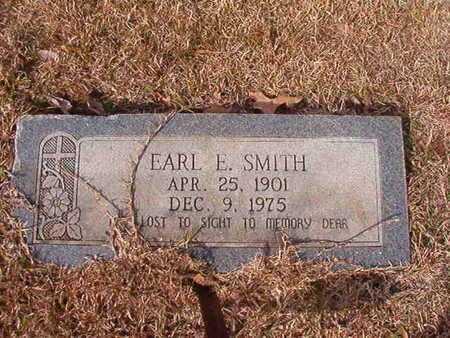 SMITH, EARL E - Nevada County, Arkansas   EARL E SMITH - Arkansas Gravestone Photos