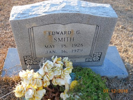 SMITH, EDWARD G - Nevada County, Arkansas   EDWARD G SMITH - Arkansas Gravestone Photos