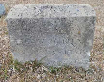 SMITH, ERBA VIRGINIA - Nevada County, Arkansas | ERBA VIRGINIA SMITH - Arkansas Gravestone Photos