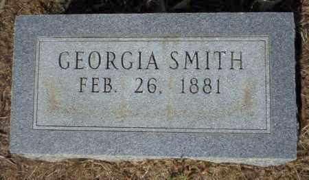 SMITH, GEORGIA - Nevada County, Arkansas   GEORGIA SMITH - Arkansas Gravestone Photos
