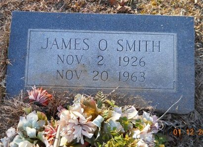 SMITH, JAMES O - Nevada County, Arkansas | JAMES O SMITH - Arkansas Gravestone Photos