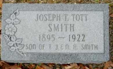 SMITH, JOSEPH T(TOTT) - Nevada County, Arkansas | JOSEPH T(TOTT) SMITH - Arkansas Gravestone Photos