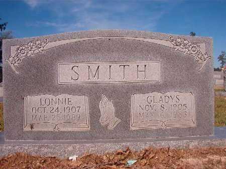 SMITH, LONNIE - Nevada County, Arkansas | LONNIE SMITH - Arkansas Gravestone Photos