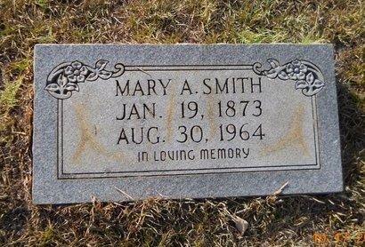 SMITH, MARY A - Nevada County, Arkansas   MARY A SMITH - Arkansas Gravestone Photos