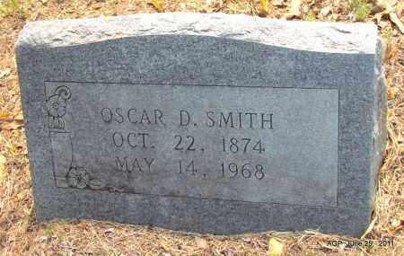 SMITH, OSCAR D - Nevada County, Arkansas   OSCAR D SMITH - Arkansas Gravestone Photos