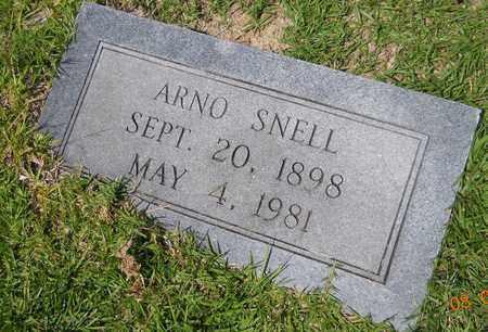 SNELL, ARNO - Nevada County, Arkansas | ARNO SNELL - Arkansas Gravestone Photos