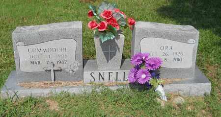 SNELL, ORA - Nevada County, Arkansas | ORA SNELL - Arkansas Gravestone Photos