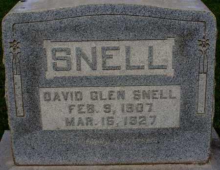 SNELL, DAVID GLEN - Nevada County, Arkansas | DAVID GLEN SNELL - Arkansas Gravestone Photos