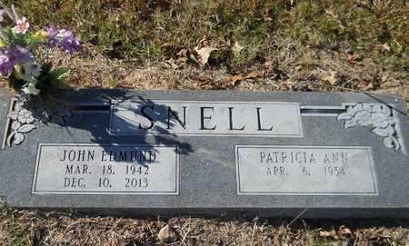 SNELL, JOHN EDMUND - Nevada County, Arkansas   JOHN EDMUND SNELL - Arkansas Gravestone Photos