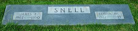 SNELL, LUONA MC - Nevada County, Arkansas | LUONA MC SNELL - Arkansas Gravestone Photos