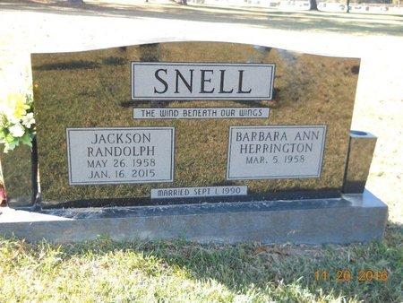 SNELL, JACKSON RANDOLPH - Nevada County, Arkansas | JACKSON RANDOLPH SNELL - Arkansas Gravestone Photos