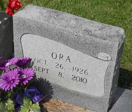 SNELL, ORA (CLOSEUP) - Nevada County, Arkansas | ORA (CLOSEUP) SNELL - Arkansas Gravestone Photos