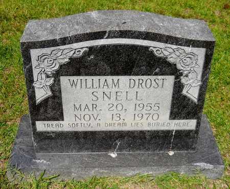 SNELL, WILLIAM DROST - Nevada County, Arkansas | WILLIAM DROST SNELL - Arkansas Gravestone Photos