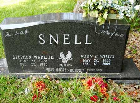 SNELL, MARY G - Nevada County, Arkansas | MARY G SNELL - Arkansas Gravestone Photos