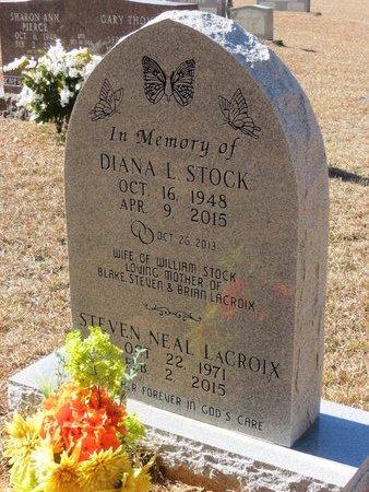 STOCK, DIANA L. - Nevada County, Arkansas | DIANA L. STOCK - Arkansas Gravestone Photos