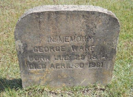 WARE, GEORGE - Nevada County, Arkansas | GEORGE WARE - Arkansas Gravestone Photos