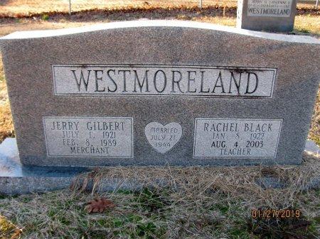 BLACK WESTMORELAND, RACHEL - Nevada County, Arkansas | RACHEL BLACK WESTMORELAND - Arkansas Gravestone Photos