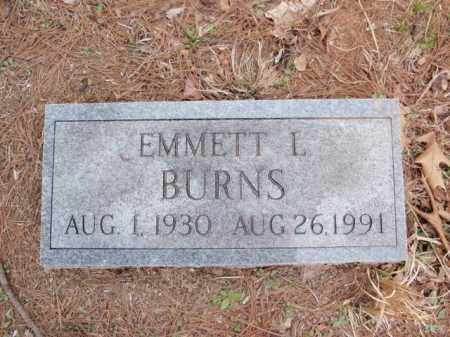 BURNS, EMMETT L. - Newton County, Arkansas | EMMETT L. BURNS - Arkansas Gravestone Photos