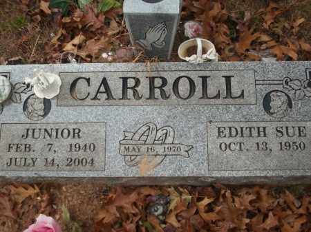 WOOD CARROLL, EDITH SUE - Newton County, Arkansas | EDITH SUE WOOD CARROLL - Arkansas Gravestone Photos