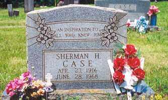 CASE, SHERMAN H. - Newton County, Arkansas | SHERMAN H. CASE - Arkansas Gravestone Photos
