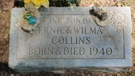 COLLINS, INFANT SON - Newton County, Arkansas | INFANT SON COLLINS - Arkansas Gravestone Photos