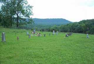 *COOK CEMETERY OVERVIEW,  - Newton County, Arkansas |  *COOK CEMETERY OVERVIEW - Arkansas Gravestone Photos
