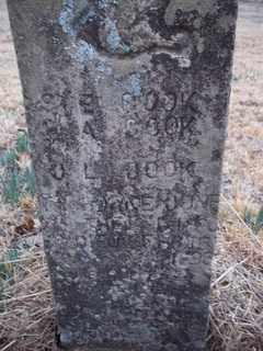 COOK, J. L. - Newton County, Arkansas   J. L. COOK - Arkansas Gravestone Photos