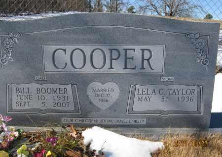 COOPER, BILL BOOMER - Newton County, Arkansas | BILL BOOMER COOPER - Arkansas Gravestone Photos