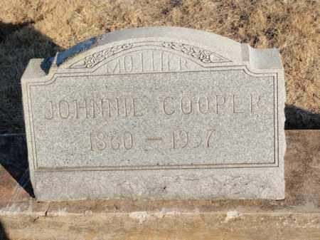 COOPER, JOHNNIE - Newton County, Arkansas | JOHNNIE COOPER - Arkansas Gravestone Photos