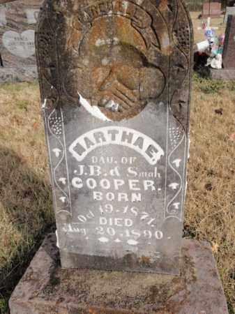 COOPER, MARTHA E. - Newton County, Arkansas | MARTHA E. COOPER - Arkansas Gravestone Photos