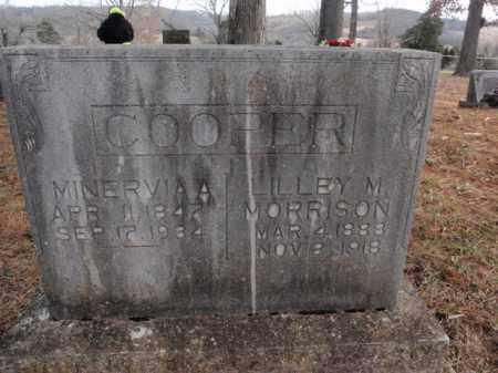 COOPER, MINERVIA A. - Newton County, Arkansas | MINERVIA A. COOPER - Arkansas Gravestone Photos