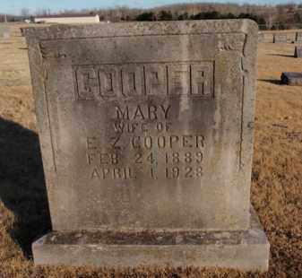 COOPER, MARY - Newton County, Arkansas | MARY COOPER - Arkansas Gravestone Photos