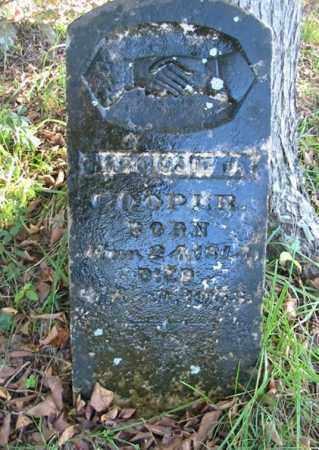 "COOPER, NARCISSA JANE ""NARCISSIE"" - Newton County, Arkansas | NARCISSA JANE ""NARCISSIE"" COOPER - Arkansas Gravestone Photos"
