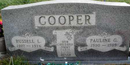 COOPER, PAULINE G. - Newton County, Arkansas   PAULINE G. COOPER - Arkansas Gravestone Photos
